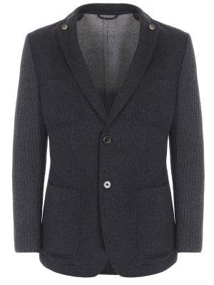 Пиджак комбинированный BOSS