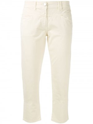 Укороченные брюки-чинос Closed. Цвет: нейтральные цвета