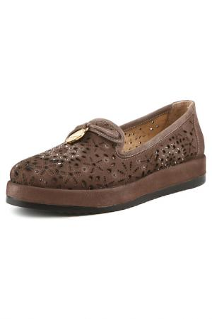Туфли Grand Style. Цвет: серый