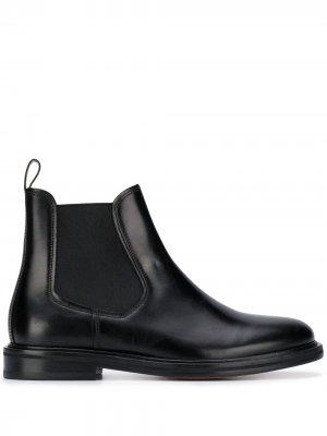 Ботинки челси с петлей для подтягивания A.P.C.. Цвет: черный