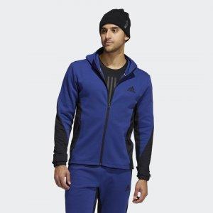 Спортивная толстовка COLD.RDY Performance adidas. Цвет: синий