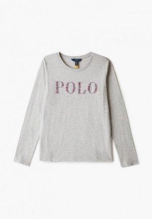 Лонгслив Polo Ralph Lauren. Цвет: серый