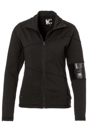 Спортивная куртка Jet Set. Цвет: черный