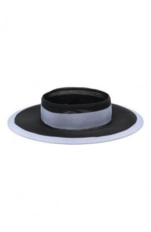 Шляпа Eugenia Kim. Цвет: синий