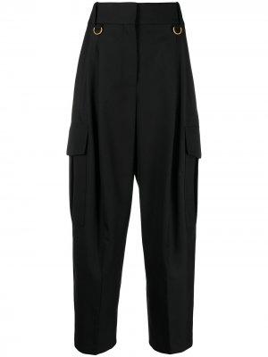 Прямые брюки карго Givenchy. Цвет: черный