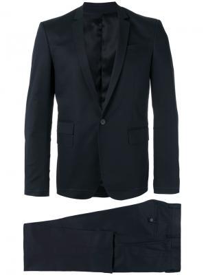 Однобортный костюм Les Hommes. Цвет: чёрный