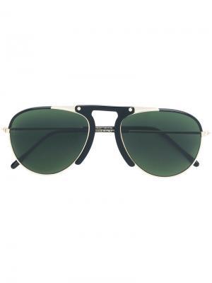 Солнцезащитные очки-авиаторы L.G.R. Цвет: черный