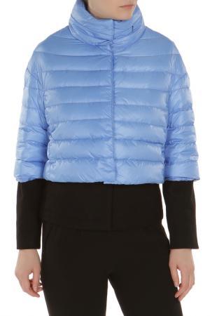 Куртка 22MAGGIO. Цвет: голубой