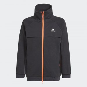 Олимпийка XFG Pocket Performance adidas. Цвет: черный