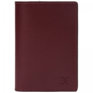 Обложка для паспорта Fabi. Цвет: бордовый
