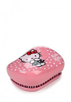Расческа Tangle Teezer Compact Styler Hello Kitty Pink. Цвет: розовый