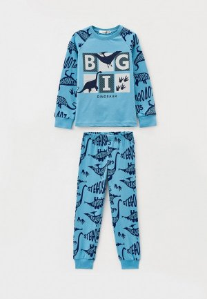 Пижама RoxyFoxy. Цвет: голубой