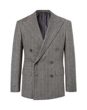 Пиджак RALPH LAUREN PURPLE LABEL. Цвет: серый