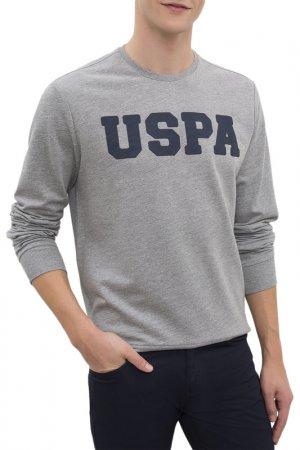Свитшот U.S. Polo Assn.. Цвет: vr086 серый