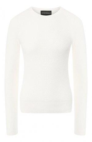Пуловер Emporio Armani. Цвет: белый