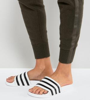 Белые сандалии Adilette-Белый adidas Originals