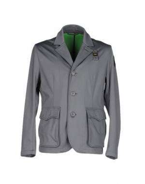 Пиджак BLAUER. Цвет: серый