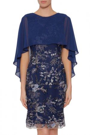 Dress Gina Bacconi. Цвет: navy