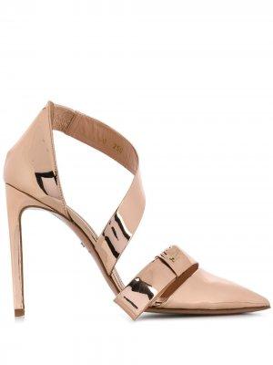 Туфли-лодочки на шпильке Elisabetta Franchi. Цвет: розовый