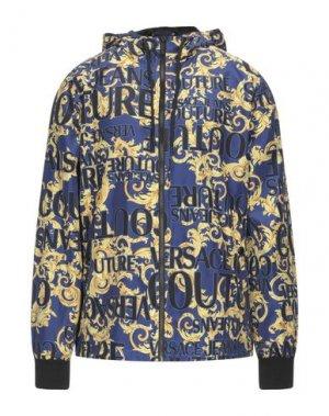 Куртка VERSACE JEANS COUTURE. Цвет: синий