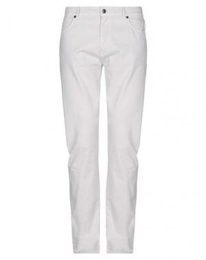 Повседневные брюки AQUASCUTUM. Цвет: светло-серый