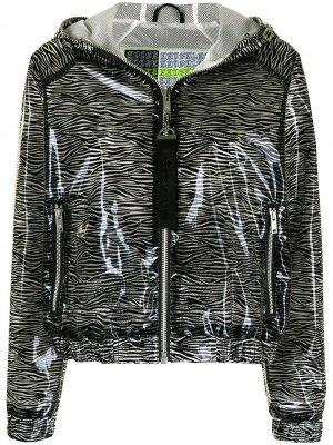 Куртка с анималистичным принтом Moose Knuckles. Цвет: черный