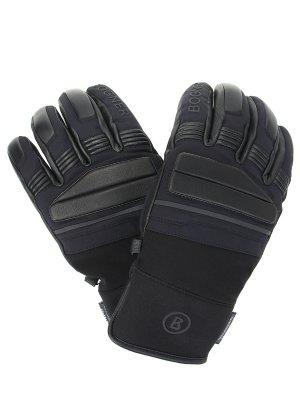 Перчатки комбинированные с логотипом BOGNER