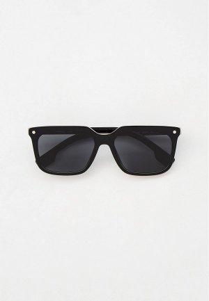 Очки солнцезащитные Burberry BE4337 379887. Цвет: черный