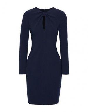 Короткое платье BLACK HALO. Цвет: темно-синий