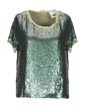 Блузка ANIYE BY. Цвет: зеленый