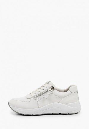 Кроссовки Caprice Увеличенная полнота, Comfort. Цвет: белый