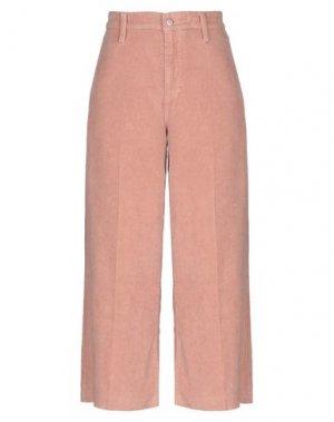 Повседневные брюки JOE'S JEANS. Цвет: телесный