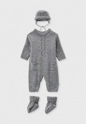 Комплект детский Leo. Цвет: серый