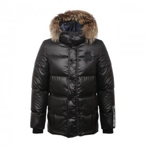 Пуховая куртка Philipp Plein. Цвет: чёрный
