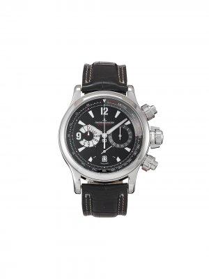 Наручные часы Master Compressor Chronograph pre-owned 42 мм 2008-го года Jaeger-LeCoultre. Цвет: черный