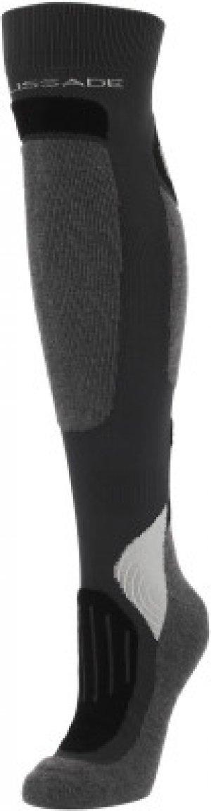 Гольфы , 1 пара, размер 39-42 Glissade. Цвет: серый
