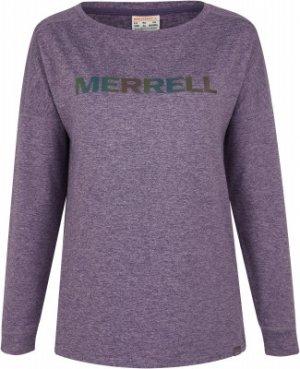 Лонгслив женский , размер 48 Merrell. Цвет: фиолетовый