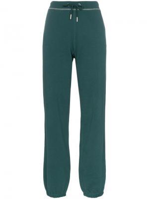Спортивные брюки с логотипом RBN X Bjorn Borg. Цвет: зеленый