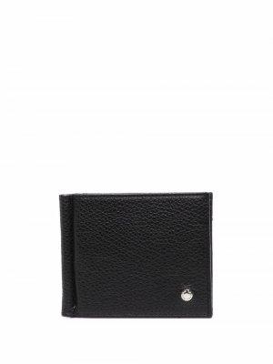 Бумажник с логотипом Orciani. Цвет: черный