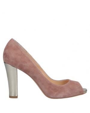 Туфли ALBERTO BRESSAN. Цвет: пастельно-розовый