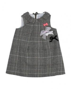 Платье LILI GAUFRETTE. Цвет: серый