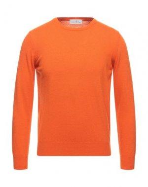 Свитер DELLA CIANA. Цвет: оранжевый