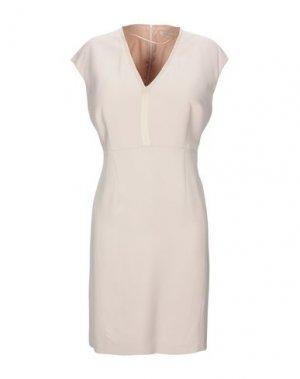 Короткое платье GERARD DAREL. Цвет: бежевый