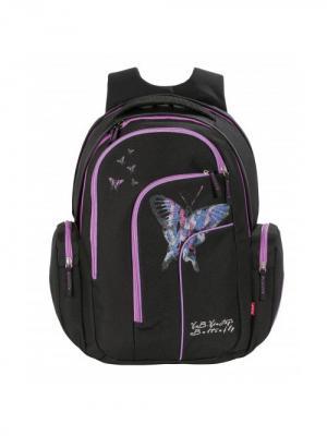 Рюкзак 4YOU MOVE БАБОЧКА 141900-726. Цвет: черный, фиолетовый
