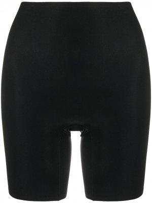 Моделирующие шорты с завышенной талией Chantelle. Цвет: черный