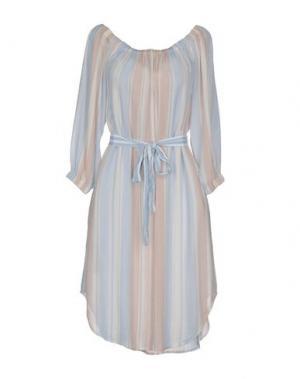 Короткое платье AG JEANS. Цвет: небесно-голубой