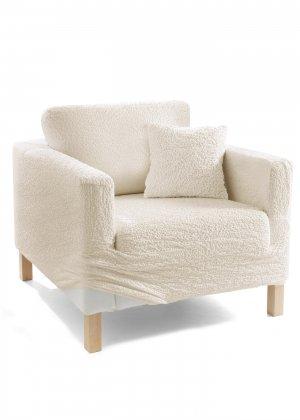 Чехол для мягкой мебели Кринкл bonprix. Цвет: бежевый