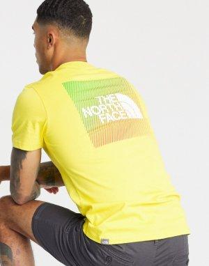 Желтая футболка Rainbox-Желтый The North Face
