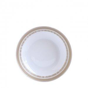 Суповая тарелка Canisse Bernardaud. Цвет: бесцветный