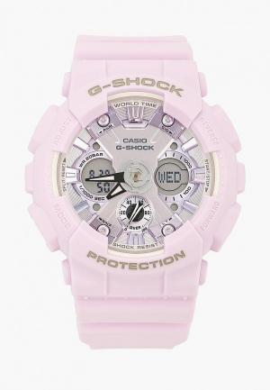 Часы Casio G-SHOCK GMA-S120DP-6AER. Цвет: фиолетовый